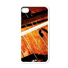 Cello Performs Classic Music Apple Iphone 4 Case (white) by FunnyCow