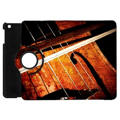 Cello Performs Classic Music Apple Ipad Mini Flip 360 Case by FunnyCow