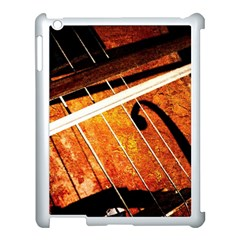 Cello Performs Classic Music Apple Ipad 3/4 Case (white) by FunnyCow