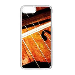 Cello Performs Classic Music Apple Iphone 8 Plus Seamless Case (white) by FunnyCow
