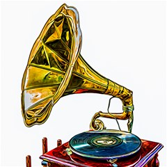 Vintage Gramophone Canvas 20  X 20  by FunnyCow