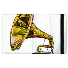 Vintage Gramophone Apple Ipad 2 Flip Case by FunnyCow