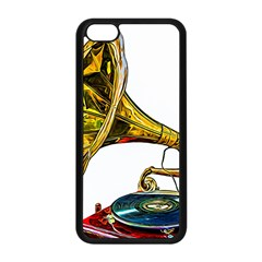 Vintage Gramophone Apple Iphone 5c Seamless Case (black) by FunnyCow