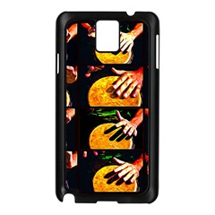Drum Beat Collage Samsung Galaxy Note 3 N9005 Case (black) by FunnyCow