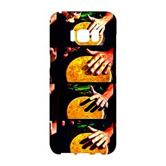 Drum Beat Collage Samsung Galaxy S8 Hardshell Case  by FunnyCow