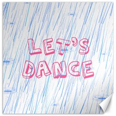 Let Us Dance Canvas 12  X 12  by FunnyCow