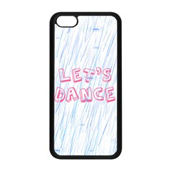 Let Us Dance Apple Iphone 5c Seamless Case (black) by FunnyCow