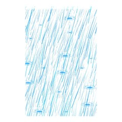 Let It Rain Shower Curtain 48  X 72  (small)  by FunnyCow