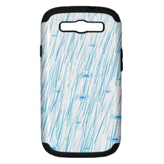 Let It Rain Samsung Galaxy S Iii Hardshell Case (pc+silicone) by FunnyCow