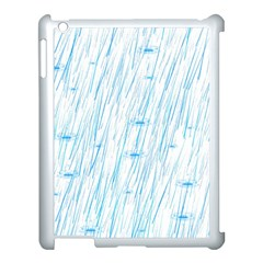Let It Rain Apple Ipad 3/4 Case (white) by FunnyCow