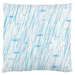 Let It Rain Standard Flano Cushion Case (one Side) by FunnyCow