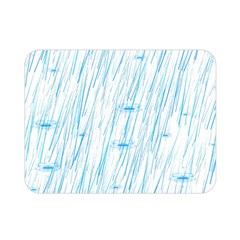Let It Rain Double Sided Flano Blanket (mini)  by FunnyCow
