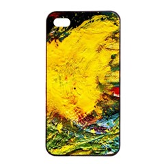 Yellow Chik Apple Iphone 4/4s Seamless Case (black) by bestdesignintheworld