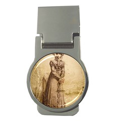 Lady 2507645 960 720 Money Clips (round)  by vintage2030