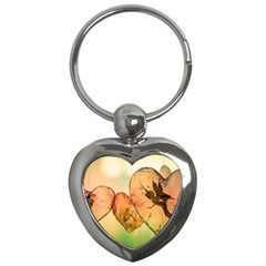 Elves 2769599 960 720 Key Chains (heart)  by vintage2030
