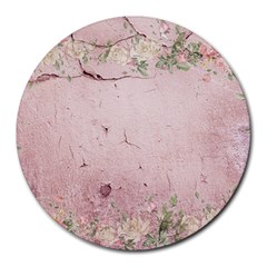 Cracks 2001002 960 720 Round Mousepads by vintage2030