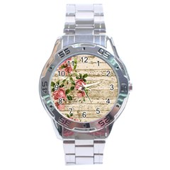 On Wood 2226067 1920 Stainless Steel Analogue Watch by vintage2030