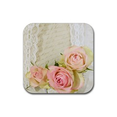 Roses 2218680 960 720 Rubber Coaster (square)  by vintage2030