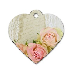 Roses 2218680 960 720 Dog Tag Heart (two Sides) by vintage2030