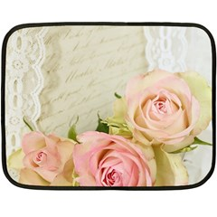 Roses 2218680 960 720 Double Sided Fleece Blanket (mini)  by vintage2030