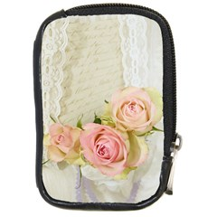 Roses 2218680 960 720 Compact Camera Leather Case by vintage2030