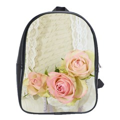 Roses 2218680 960 720 School Bag (xl) by vintage2030