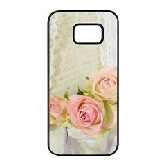 Roses 2218680 960 720 Samsung Galaxy S7 Edge Black Seamless Case by vintage2030