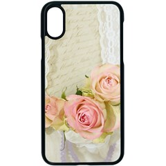 Roses 2218680 960 720 Apple Iphone X Seamless Case (black)