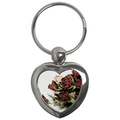 Roses 1802790 960 720 Key Chains (heart)  by vintage2030