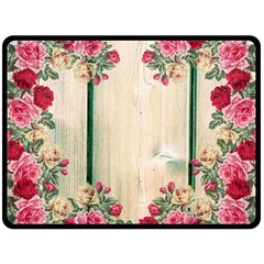 Roses 1944106 960 720 Fleece Blanket (large)  by vintage2030