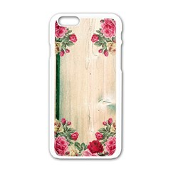 Roses 1944106 960 720 Apple Iphone 6/6s White Enamel Case by vintage2030
