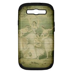 Ballet 2523406 1920 Samsung Galaxy S Iii Hardshell Case (pc+silicone) by vintage2030