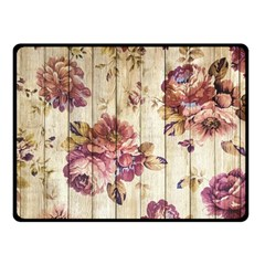 On Wood 1897174 1920 Fleece Blanket (small) by vintage2030