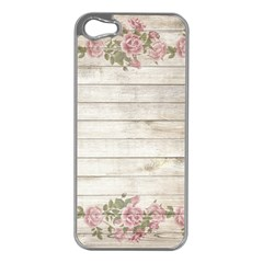 On Wood 2188537 1920 Apple Iphone 5 Case (silver) by vintage2030