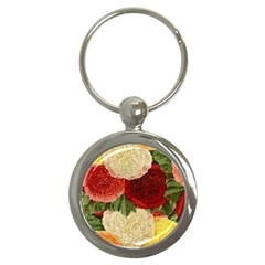 Flowers 1776429 1920 Key Chains (round)  by vintage2030