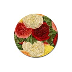 Flowers 1776429 1920 Magnet 3  (round) by vintage2030