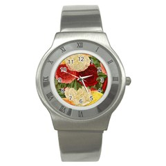 Flowers 1776429 1920 Stainless Steel Watch by vintage2030