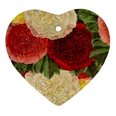 Flowers 1776429 1920 Heart Ornament (two Sides) by vintage2030