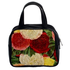 Flowers 1776429 1920 Classic Handbag (two Sides) by vintage2030