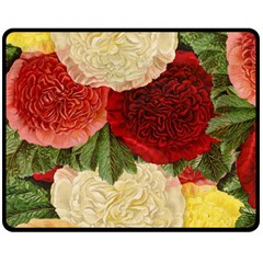 Flowers 1776429 1920 Fleece Blanket (medium)  by vintage2030