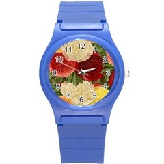Flowers 1776429 1920 Round Plastic Sport Watch (s) by vintage2030