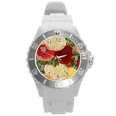 Flowers 1776429 1920 Round Plastic Sport Watch (l) by vintage2030