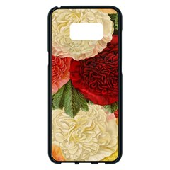 Flowers 1776429 1920 Samsung Galaxy S8 Plus Black Seamless Case