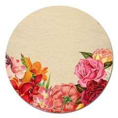 Flower 1646035 1920 Magnet 5  (round) by vintage2030