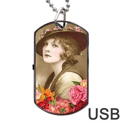 Vintage 1646083 1920 Dog Tag Usb Flash (two Sides) by vintage2030