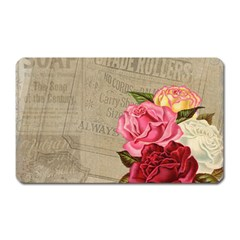Flower 1646069 1920 Magnet (rectangular) by vintage2030