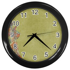 Background 1619142 1920 Wall Clock (black) by vintage2030
