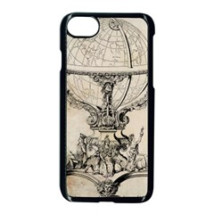 Globe 1618193 1280 Apple Iphone 8 Seamless Case (black) by vintage2030