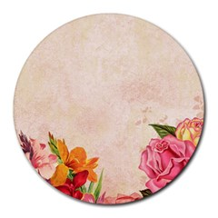 Flower 1646045 1920 Round Mousepads by vintage2030