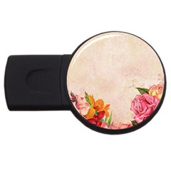 Flower 1646045 1920 Usb Flash Drive Round (4 Gb) by vintage2030